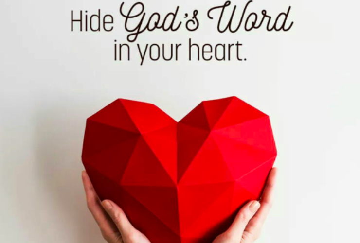 Hide God's Word in Your Heart