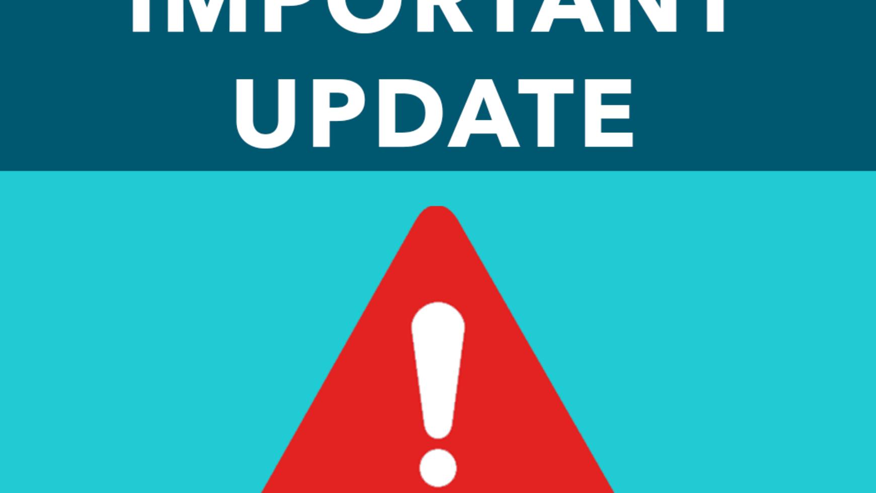 Update: Lockdown Extended